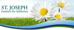 St. Joseph Institute for Addiction logo with daisies