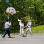 basketball at St. Joseph Institute property - pennsylvania drug and alcohol addiction treatment center