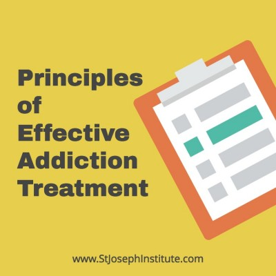 Principles of effective addiction treatment