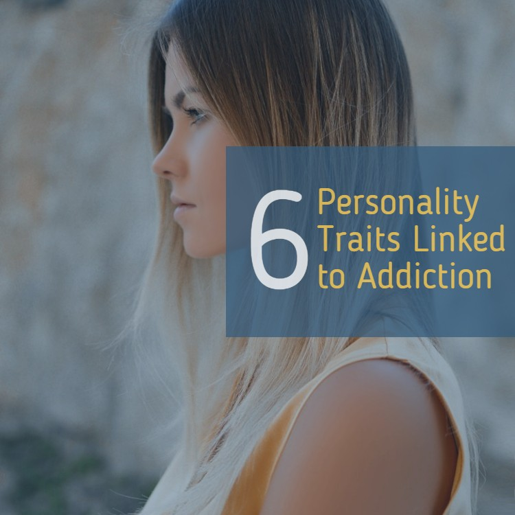 pretty young woman's profile - Personality traits related to addiction