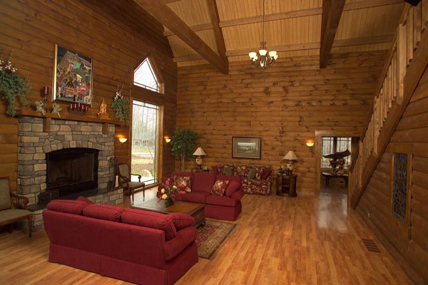 Great Room of the Bald Eagle Hospitality House - St. Joseph Institute