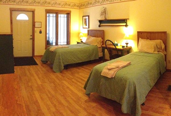 Bedroom at St. Joseph Institute