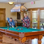 people playing pool - Game Room at St. Joseph Institute for Addiction in Pennsylvania