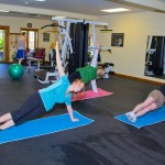Yoga in the Gym - St. Joseph Institute