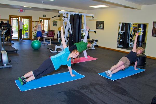 Yoga in the Gym - St. Joseph Institute