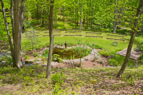 Outdoor Amphitheatre - PA drug rehab and alcohol addiction treatment center St. Joseph Institute for Addiction