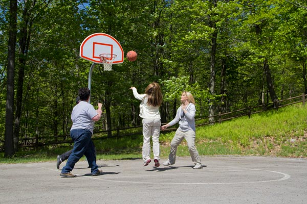 Basketball Court - St. Joseph Institute - PA drug rehab and alcohol addiction treatment center