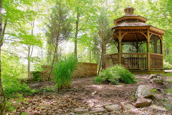 Gazebo - St. Joseph Institute - PA drug rehab and alcohol addiction treatment center