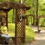 woman sitting in gazebo - Meditation - St. Joseph Institute - substance use program in PA