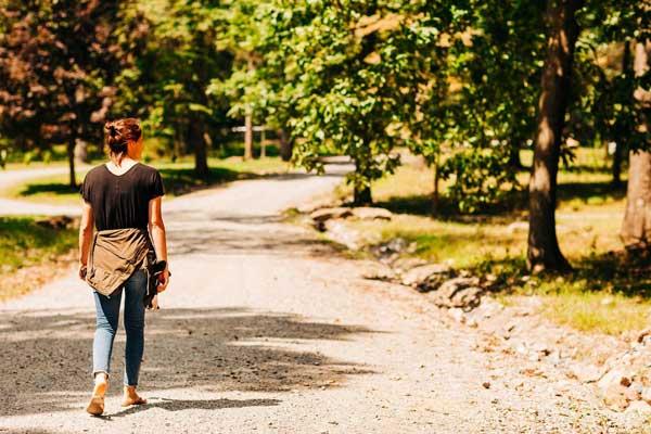 Walking Path at St. Joseph Institute for Addiction