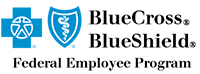 blue cross blue shield - federal employee program logo