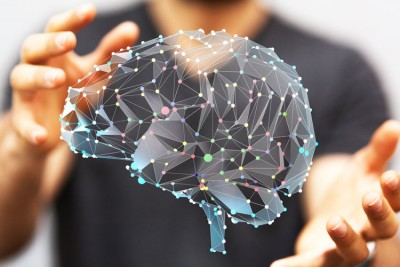 image of brain and receptors - chronic disease