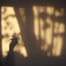 smoking with shadow -