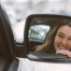 Girl in Car Smiling- Recovery